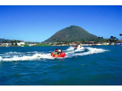 banana boat oahu hawaii water sports multi ride specials parasail jet