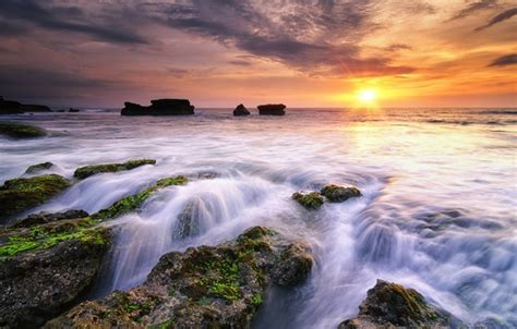 Hp Iphone 5 Di Bali wallpaper melasti a minute before sunset indonesia bali images for desktop section