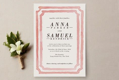 wedding invitations paperchase beyond the aisle paper best watercolor wedding