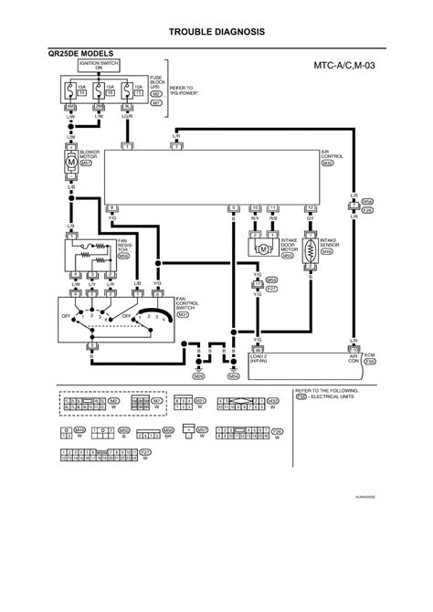 qr25de ecm wiring diagram 25 wiring diagram images