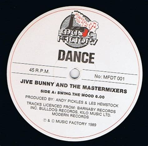 jive bunny and the mastermixers swing the mood jive bunny and the mastermixers swing the mood 12 single