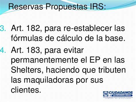 calculo de isr a residentes en el extra reforma fiscal maquiladoras