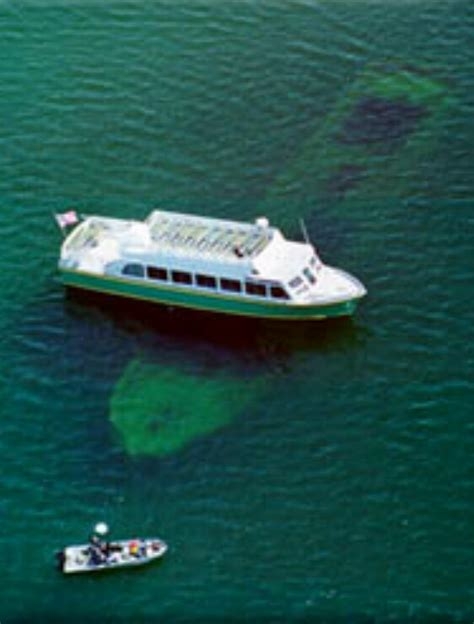 glass bottom boat shipwreck tour glass bottom boat shipwreck tour marquette pictured