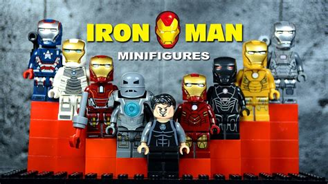 lego iron man mark suit armor knockoff minifigures