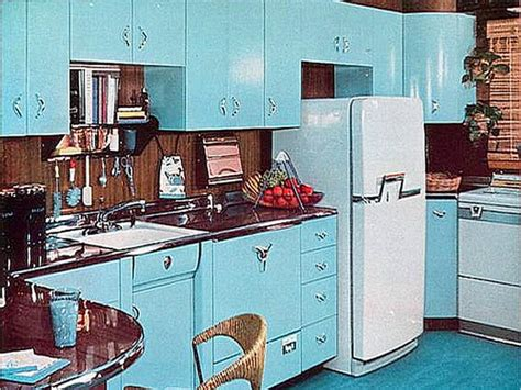 How Home Decor Has Drastically Changed Over The Decades 1950 Kitchen Design