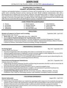 Financial Consultant Sle Resume by 36 Best Best Finance Resume Templates Sles Images On Resume Templates Finance