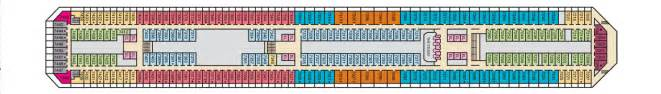 carnival conquest floor plan carnival conquest love it book it