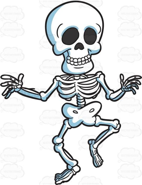 skeleton clipart a skeleton doing a clipart