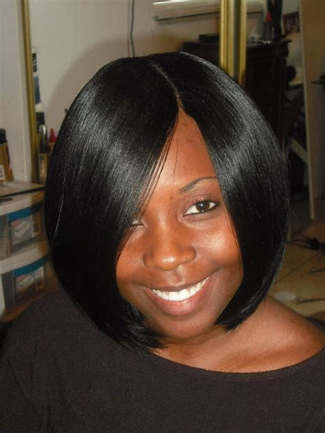 sewin pics for black women african american bob sew in styles pictures