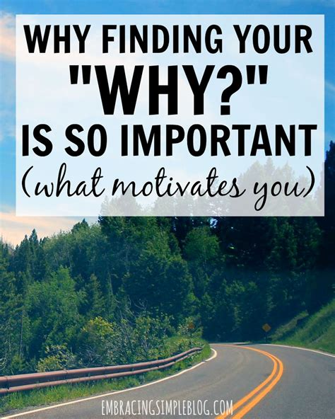 why is my why finding your quot why quot is important embracing simple