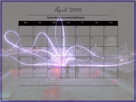 April 2008 Calendar April 2008 Calendar Torchwood Wallpaper 963594 Fanpop