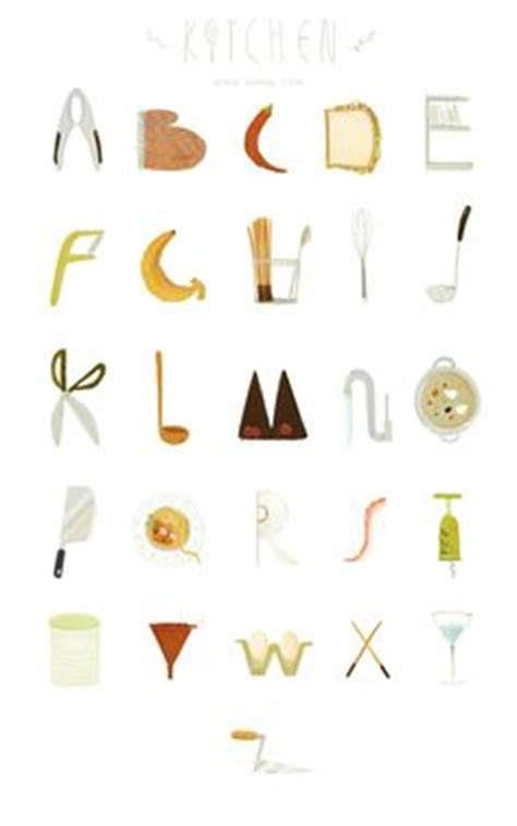 Alphabet Kitchen by Alphabet Symbols On Alphabet