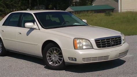 old car owners manuals 2003 cadillac deville auto manual 2003 cadillac dhs mathes auto sales used cars florence sc youtube