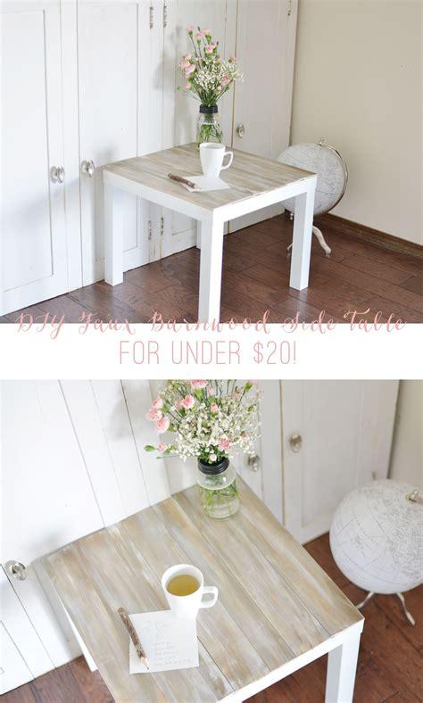 diy ikea diy faux barnwood side table ikea hack wood side tables and barn wood