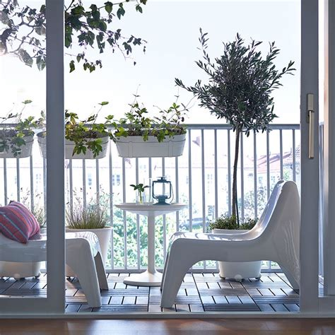 Hanging Balcony Table Ikea | ikea garden balcony ideas make the most of your space