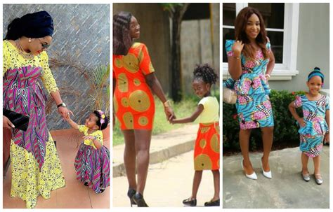 Too Cute: 25 Ankara Mother And Daughter Matching Outfits
