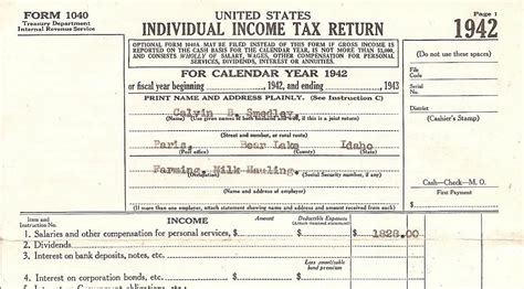 income tax section 87 lost family treasures treasure chest thursday 1942 tax
