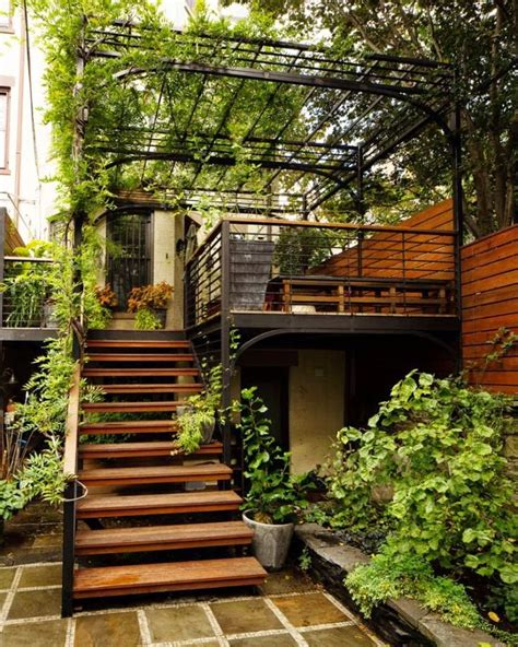 backyard stairs outdoor stairs designs that heighten the beauty of your