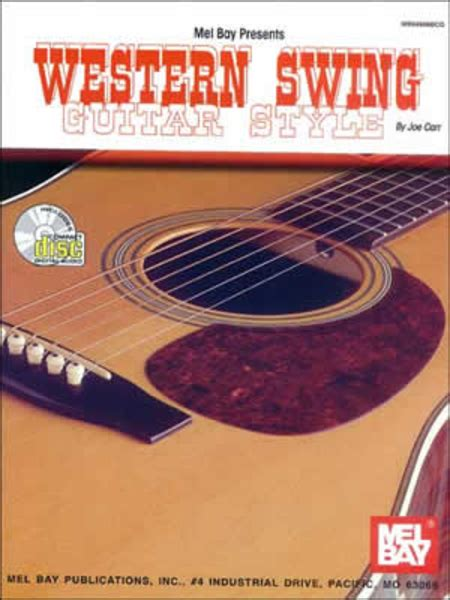 swing guitar western swing guitar style sheet by joe carr sheet