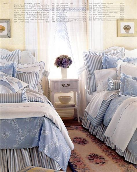 White Cottage Bedroom by Fabulous Chambray Blue White Cottage Bedroom Bedrooms