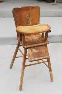 vintage wooden high chair 40 alice and hatter