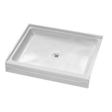 Shower Pan Home Depot by American Standard Alcove 48 In X 32 In Single Threshold