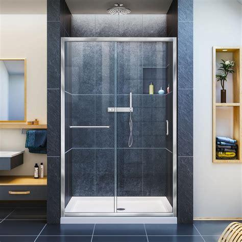 48 inch shower doors dreamline infinity z 36 in x 48 in x 74 75 in framed