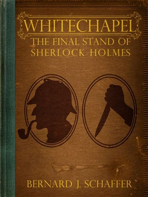 whitechapel the stand of sherlock by bernard
