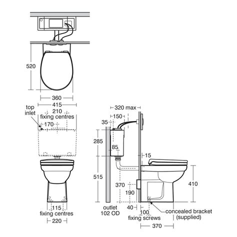Baths With Shower contour 21 back to wall standard height wc suite back to