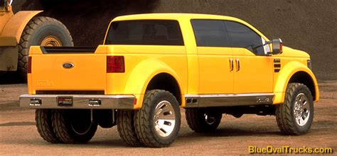 Ford Mighty F 350 Tonka Concept Truck ? Blue Oval Trucks