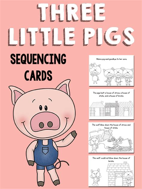 Ordinal Animal Character 02 ideas for early childhood preschool pig theme