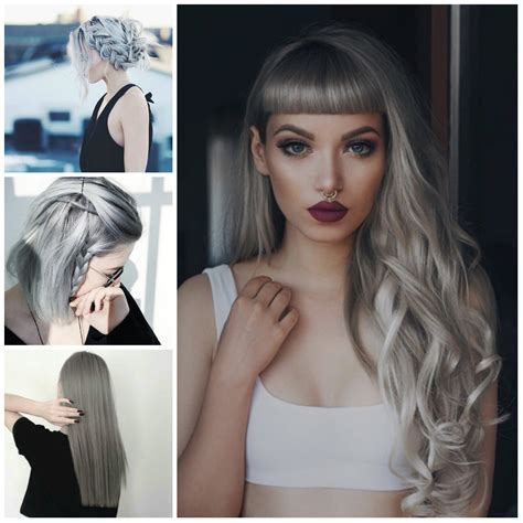 Grey Hairstyles For Black by Black Hairstyles Haircuts Hairstyles 2017 And