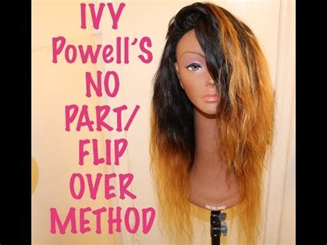 no part flip over method wig tutorial aliexpress signature flip over method start to finsh doovi