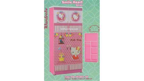 Lemari Kayu Hello Kity lemari kayu hello wd hk1801 sh kea panel