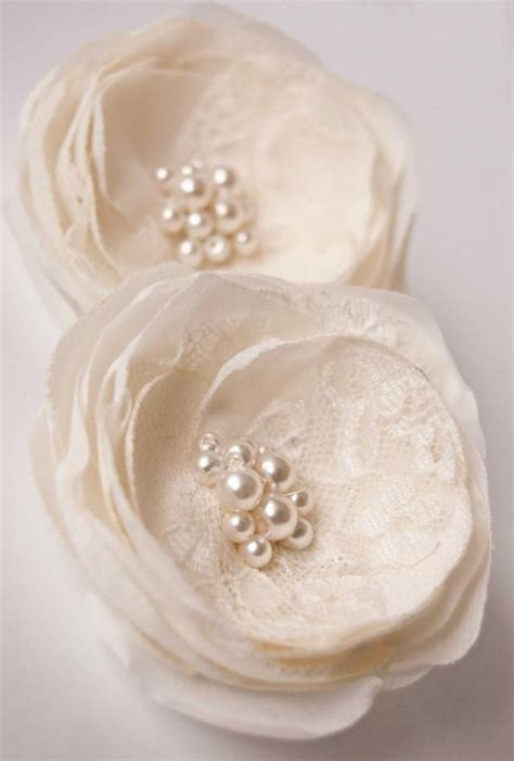 Wedding Hair Accessories Bridesmaids by Wedding Hair Accessory Ivory Wedding Hair Flowers