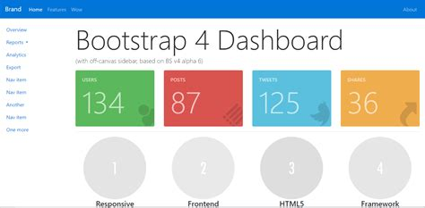 Best 14 Free Bootstrap 4 Admin Templates Bootstrap 4 Templates
