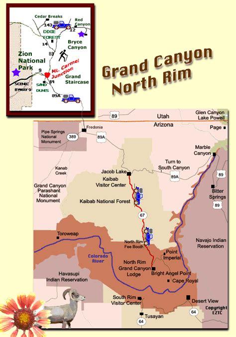 arizona map map northern arizona