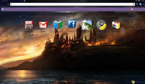 themes google chrome harry potter 10 magical harry potter chrome themes for true fans