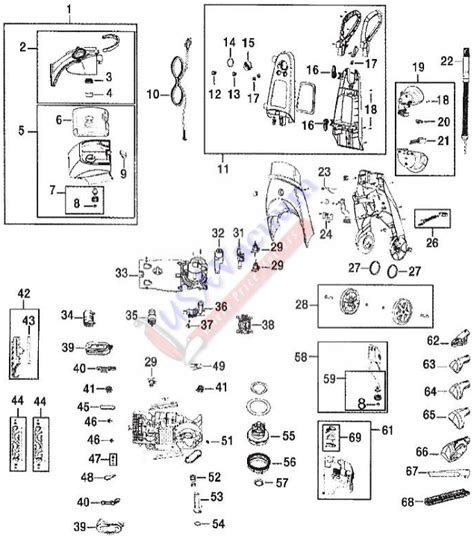 bissell proheat 2x parts diagram bissell proheat 2x diagram 2017 2018 best cars reviews
