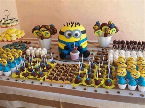 birthday themes minions gastronomy by joy minions party ideas