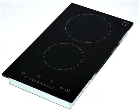 cooktop 2 burner electric k h domino 2 burner 12 quot electric radiant ceramic cooktop