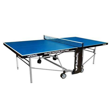 butterfly outdoor rollaway table tennis butterfly deluxe outdoor rollaway table tennis table