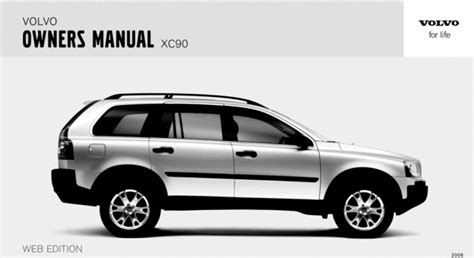 service manuals schematics 2004 volvo xc90 user handbook 06 volvo xc90 2006 owners manual download manuals technical
