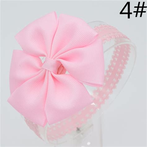 Handmade Baby Hair Bands - 21 color baby hair bows handmade flower lace headband
