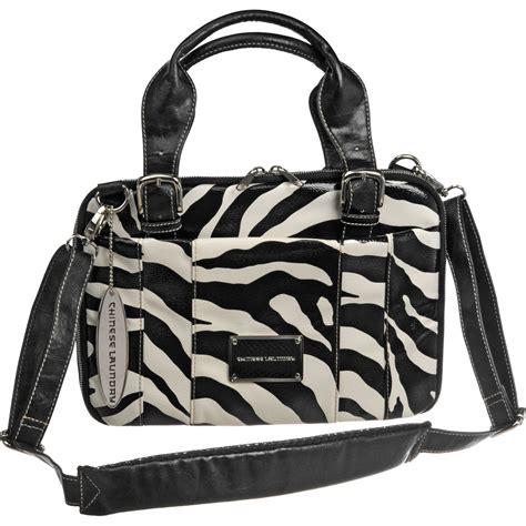 Chinese Laundry Zebra Netbook Bag 51689 B H Photo Video Zebra Laundry
