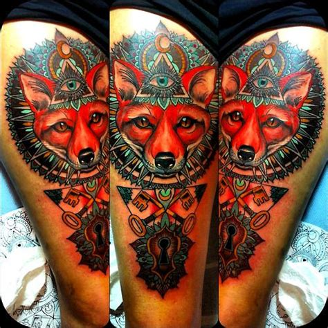 foxx illuminati fox illuminati by flo nuttall tattoomagz