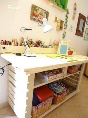 murphy craft table spaces craft and pallets pallet coffee table craft space craft tables and sewing