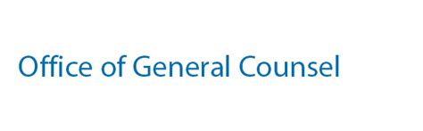 general counsel banking financial services