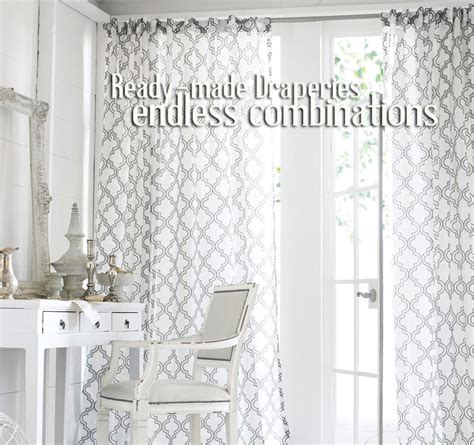ready made draperies window treatments best price curtains ready made rooms