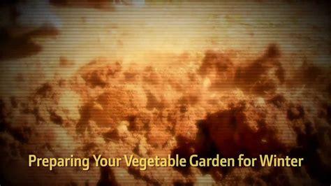 preparing your vegetable garden for winter hd